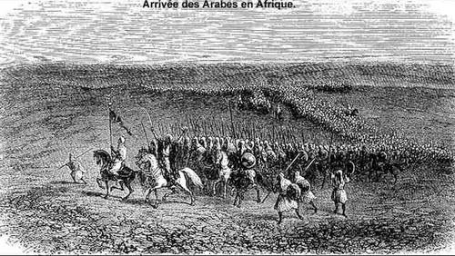 """Résultat de recherche d'images pour """"l'invasion arabe en afrique du nord"""""""