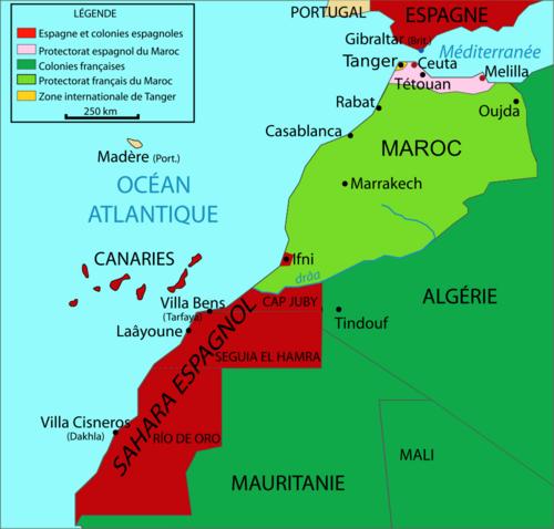 Carte Espagne Afrique Du Nord.Histoire Des Espagnols